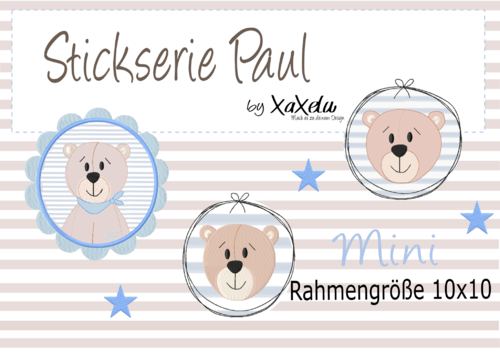 Stickserie Paul *Mini*