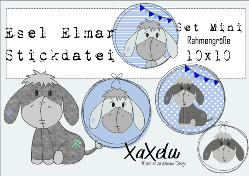 Stickserie Elmar *Mini*